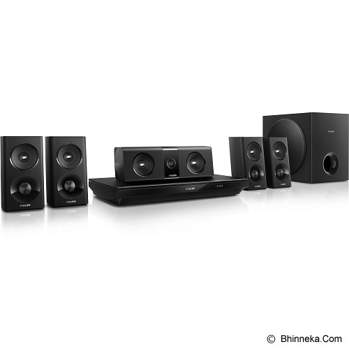 PHILIPS Home Theater 5.1 inch [HTB3520] - Home Theater System